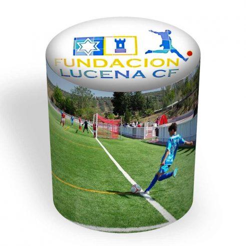Puff Taburete Redondo Personalizado Fundación Lucena CF