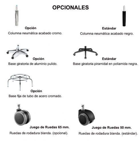 Opcionales Taburetes
